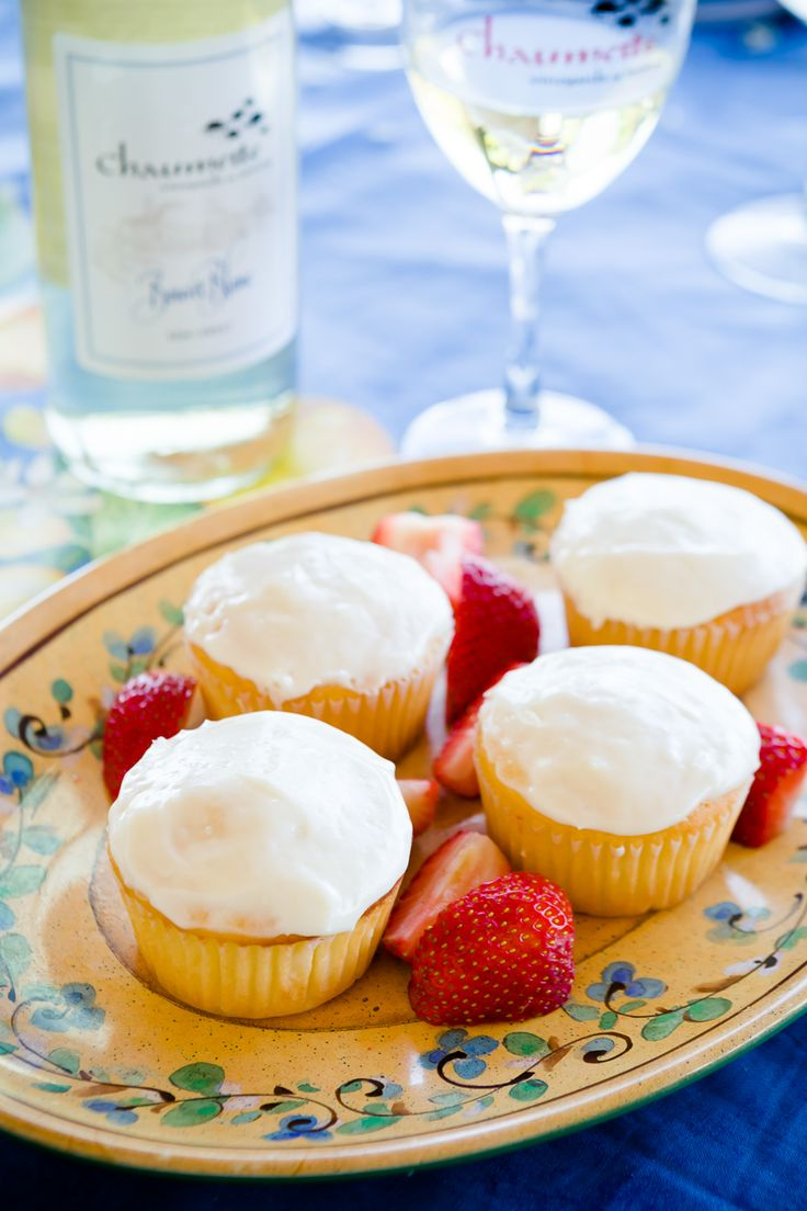 Take a Trip and Have Some Wine and Cheese Cupcakes - from Cupcake Project