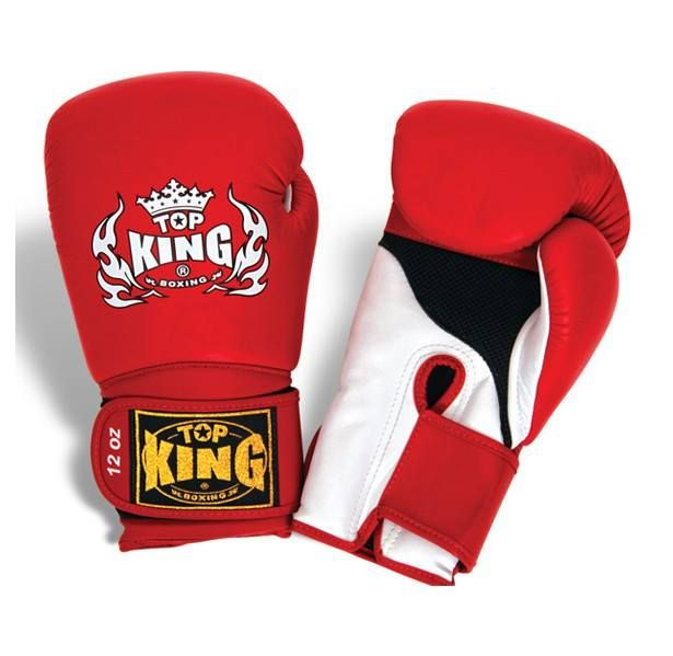 """Top King Red Boxing Gloves """"Super Air"""" available from http://www.topking.eu"""