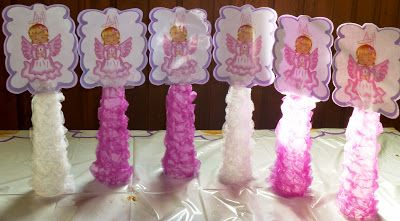 Christening / Baptism Center Pieces