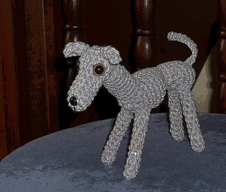 Greyhound Knitting Pattern Free : Italian greyhound amigurumi pattern Yarn Pinterest
