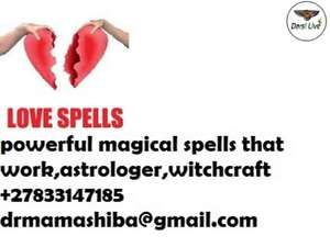 Most powerful love spells and lost love spells in johannesburg +27833147185 - Krugersdorp - free classifieds in South Africa