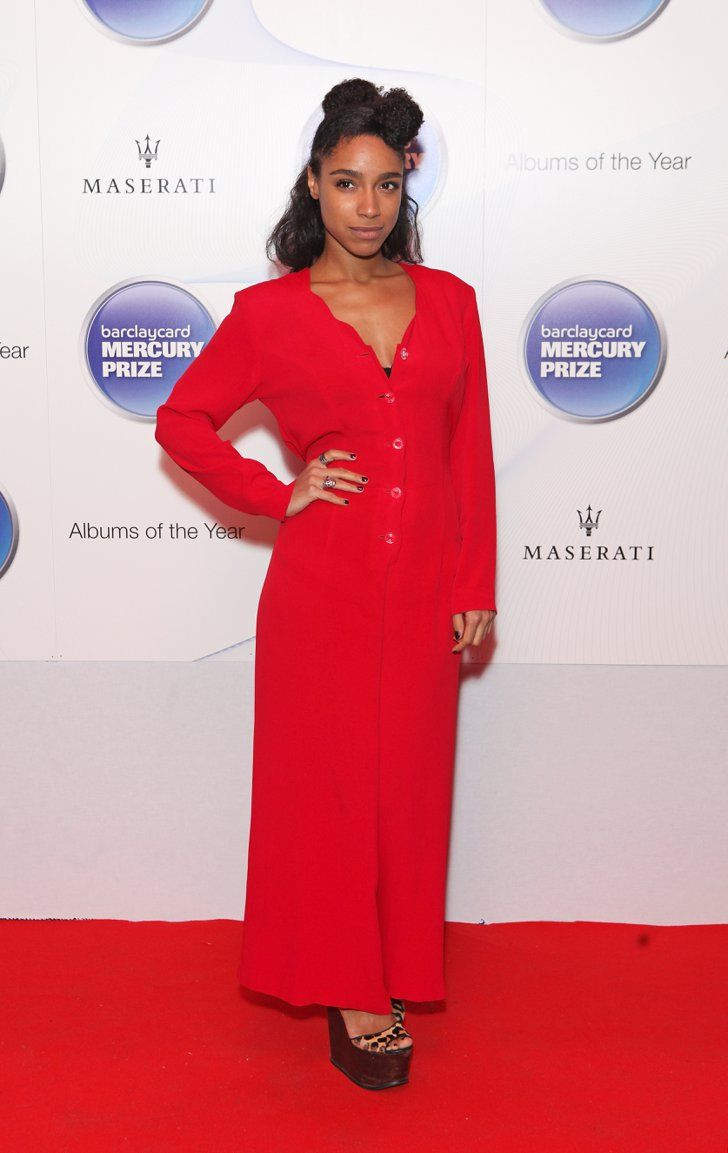 Pin for Later: Lianne La Havas's Style Is Unstoppably Cool  A vision in red, Lianne paired a vintage jumpsuit with leopard heels to the Barclaycard Mercury Prize at The Roundhouse in October 2014.