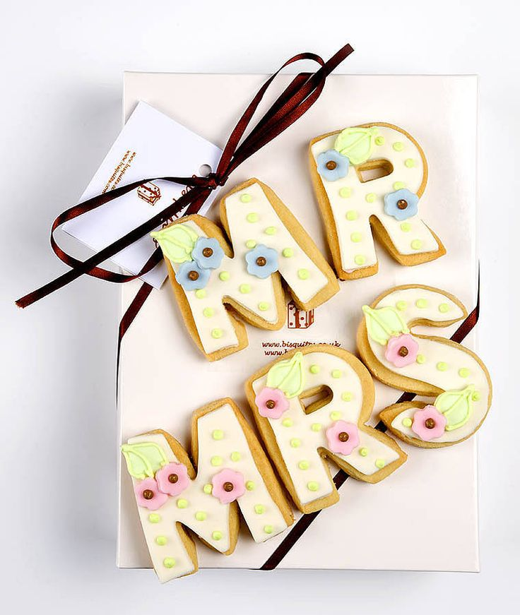 biscuit letters by bisquites | notonthehighstreet.com