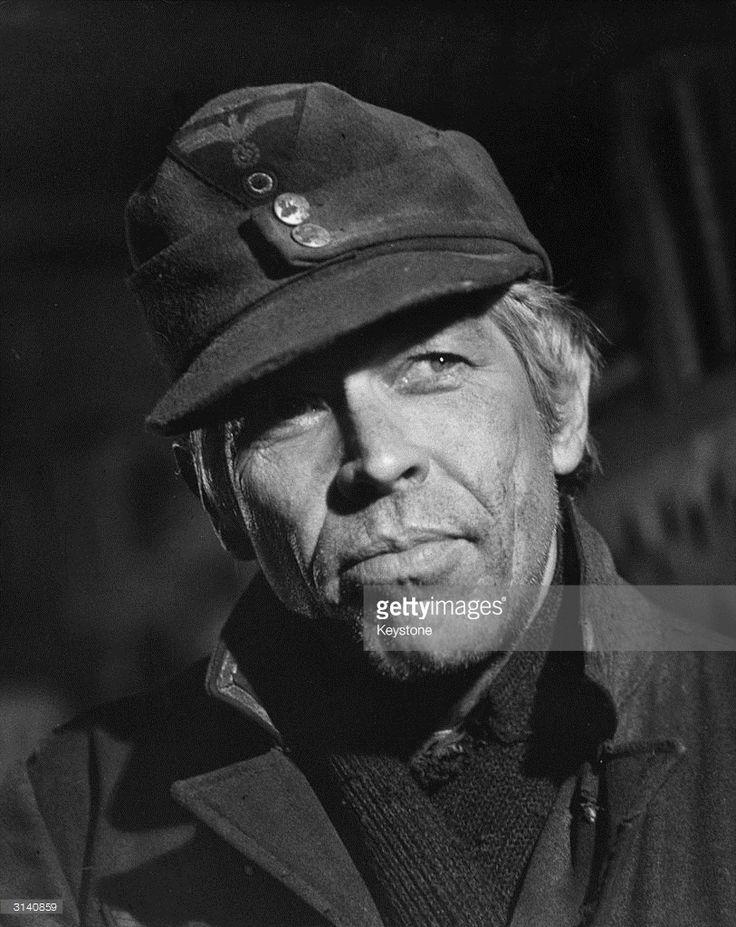 "James Coburn in Sam Peckinpah's ""Cross Of Iron""."