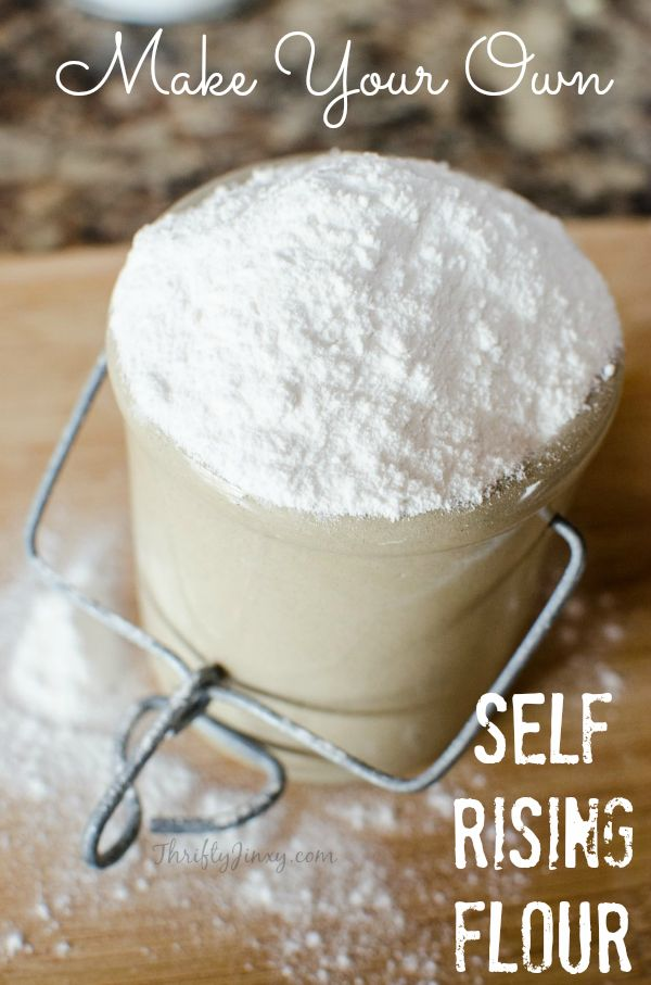 These easy instructions how to make self rising flour substitute is perfect for quick breads, biscuits or other recipes that call for self raising flour.