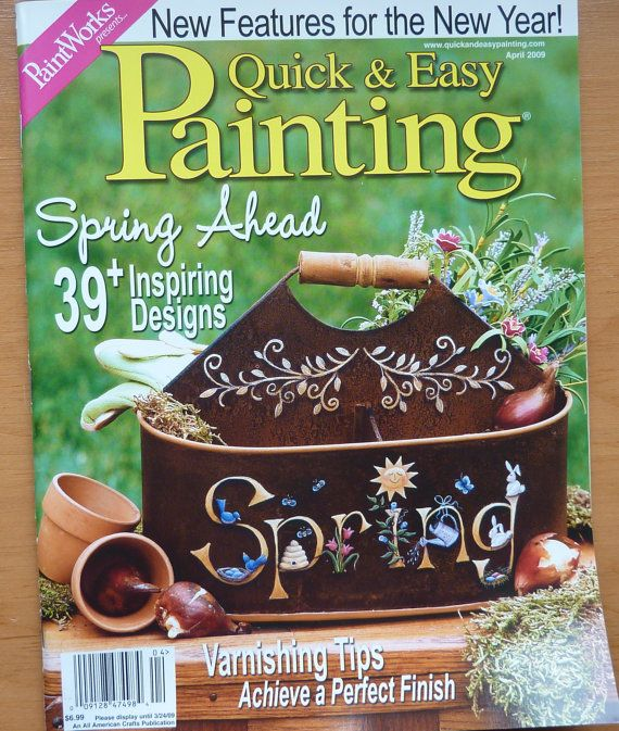 paintworks quick amp easy painting magazine april 2009