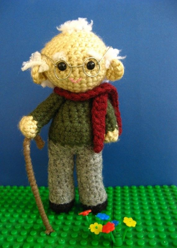 Amigurumi Grandpa/Uncle  Crochet Pattern PDF by MADSBEAR on Etsy, $4.99