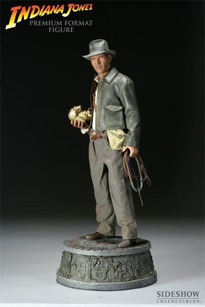 Indiana Jones: Raiders of the Lost Ark    Indiana Jones Premium Format Figure    http://www.sideshowtoy.com/?page_id=4489&sku=7192#!prettyPhoto[product_gallery]/0/