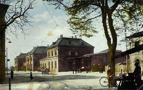 Ostrava Přívoz - nádraží 1916