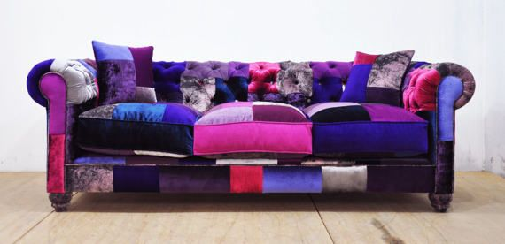 die besten 25 patchwork sofa ideen auf pinterest patchwork sofa ohrensessel patchwork und. Black Bedroom Furniture Sets. Home Design Ideas