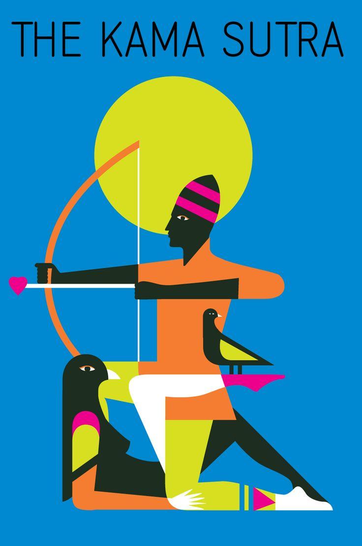 Kamasutra. Artwork by Malika Favre.