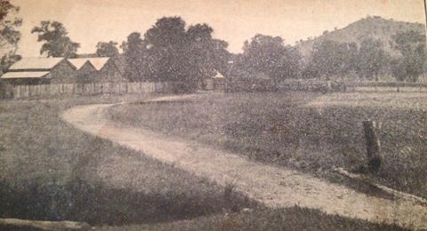 This pic is said to be the only known photo of the Kelly farm at 15 mile creek.