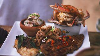 Ultimate seafood barbecue
