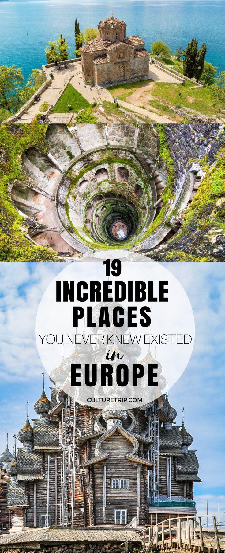 19 unglaubliche Orte, von denen Sie nie wussten, dass sie in Europa existierten