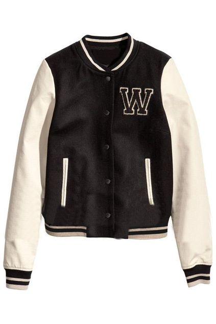 ROMWE | Color Block Elastic Black Jacket, The Latest Street Fashion