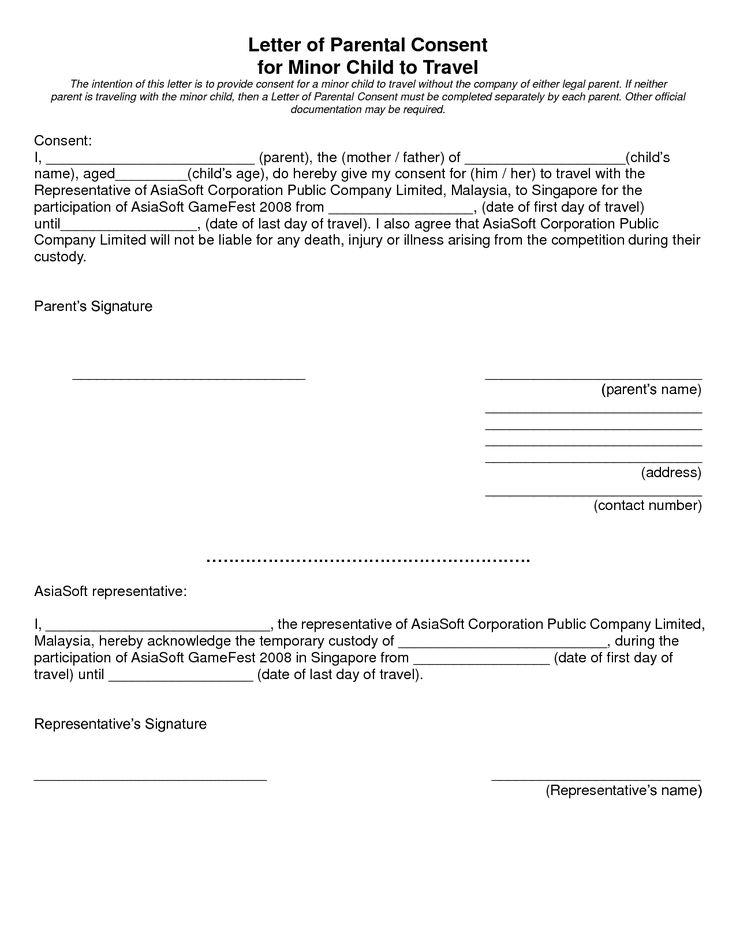 25+ unique Medical consent form children ideas on Pinterest - temporary guardianship form