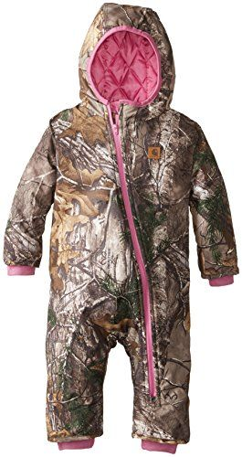 Carhartt Baby-Boys Infant Camo Snowsuit, Realtree Xtra, 24 Months