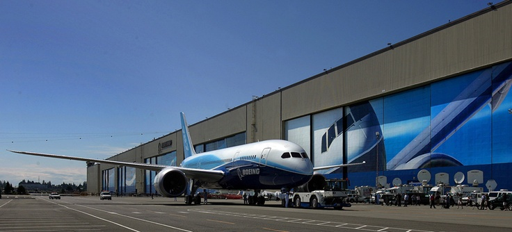 Boeing Plant Tour in Everett, WA