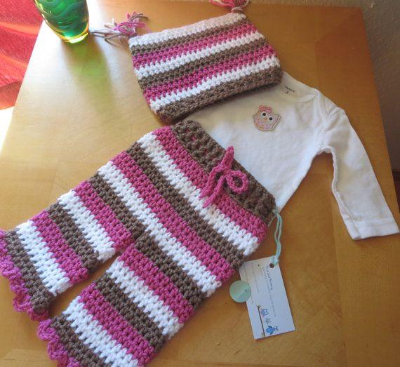 Baby girl, layette, coming home outfit, baby girl set, owl, bird, crochet, knit, handmade, newborn, baby shower gift
