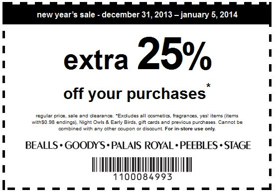 Goody's in store coupon codes