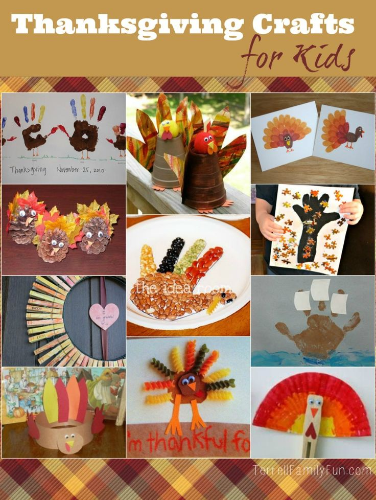 Thanksgiving Crafts for Kids and Toddlers 29