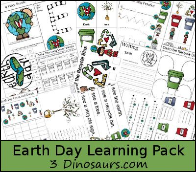 Earth Day & Recycling Lesson Planning Ideas for Childcare Providers.