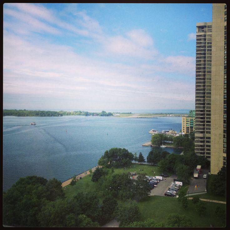 View of #LakeOntario from the 15th floor at the #WestinToronto #Toronto #Ontario #Canada #IgniteMagazine #IgniteBusinessExpo