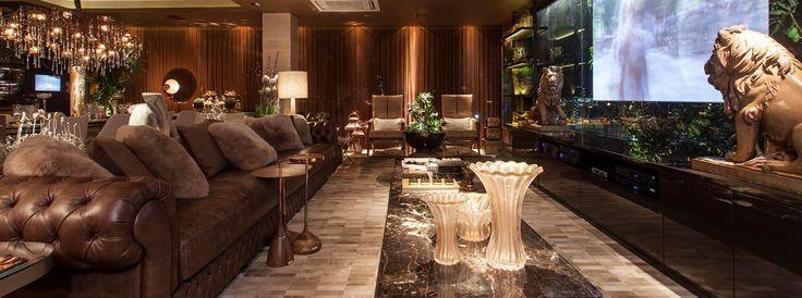 Lounge Gourmet. Arquiteto Flávio Moura.