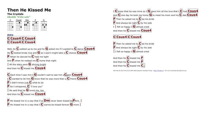 216 best Ukulele chords and lyrics images on Pinterest : Ukulele songs, Ukulele chords and ...
