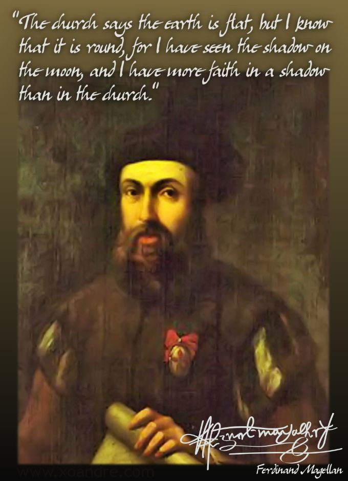 Ferdinand Magellan (LC) Didnt believe in the church of ...