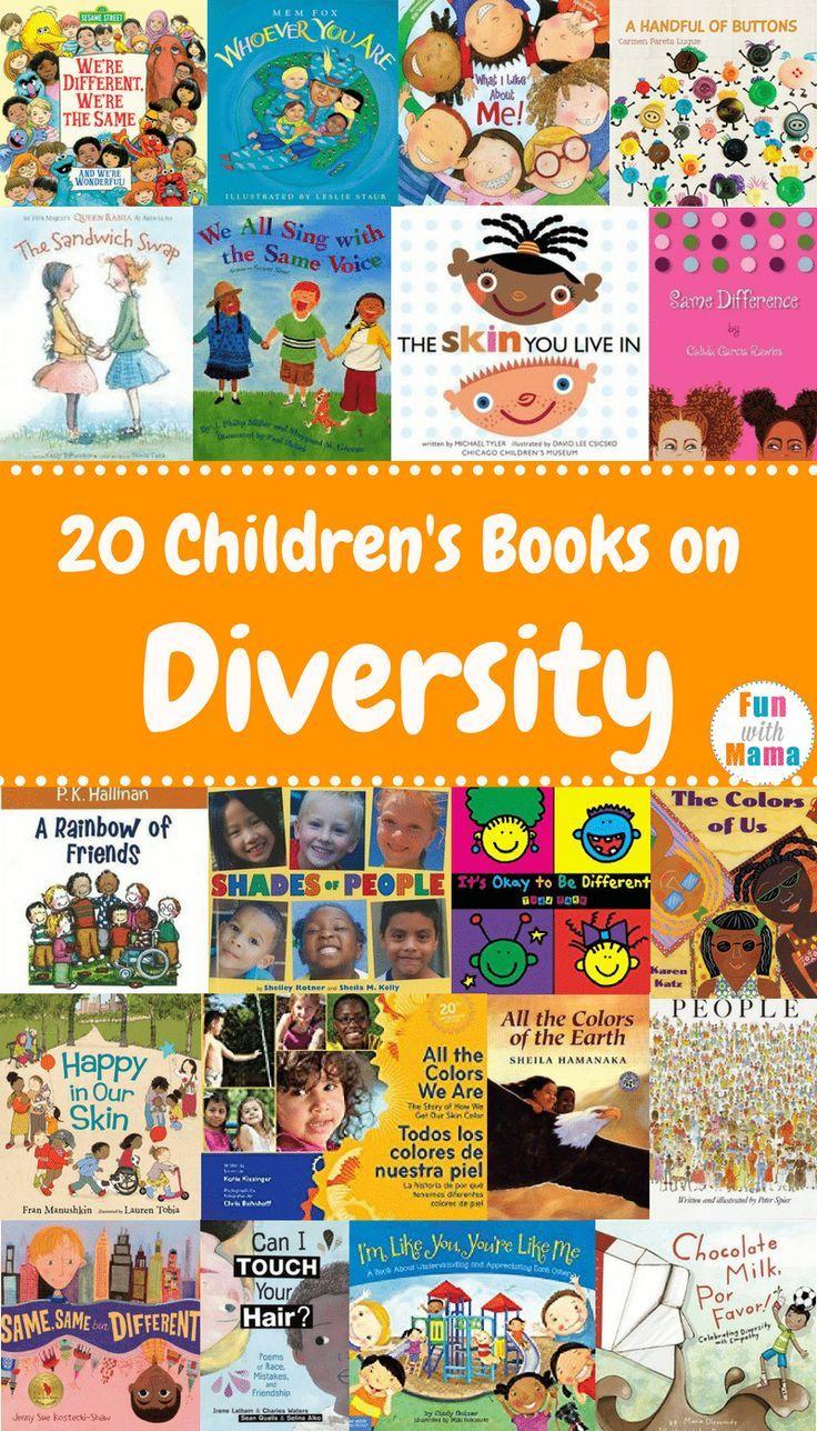 20 Childrens Books About Diversity Teaching Kindergarten