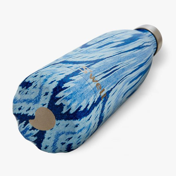 Swell Water Bottle Santorini Textile Collection Stainless Steel 25 oz large water bottle