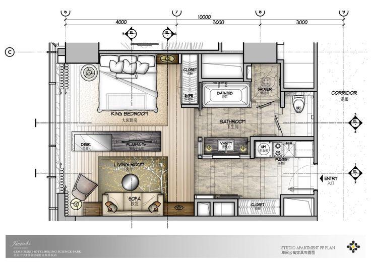 bed room sketch