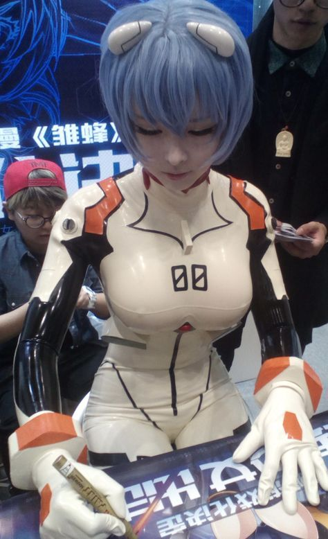 Ayanami Rei ☼ Pinterest policies respected.( *`ω´) If you don't like what you see❤, please be kind and just move along. ❇☽