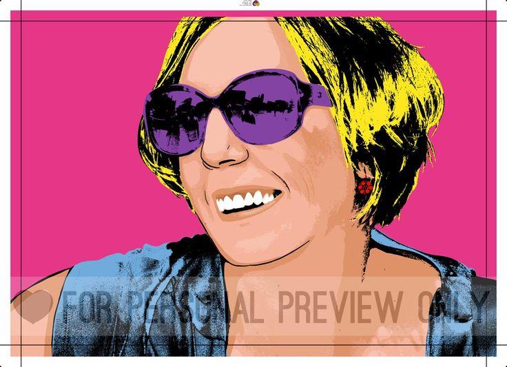 Een eigen pop-art. Leuk voor jezelf of als speciaal cadeau www.personal-art.nl