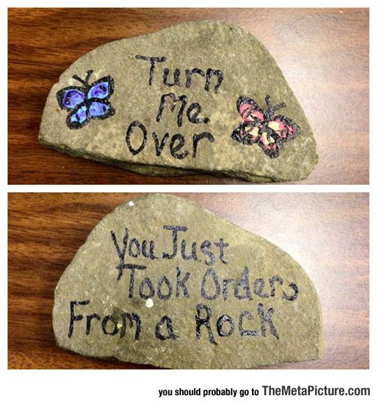 I'd have a rocky relationship with this stone.