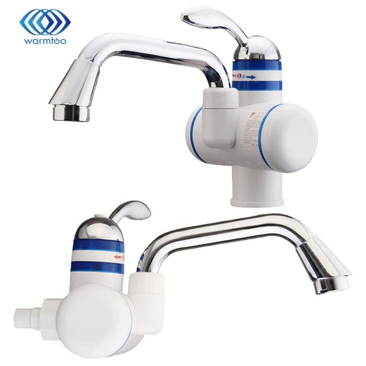 Quente/Frio Água Misturador Para Cozinha Rápido Aquecimento Elétrico de Água Torneiras Pia Da Cozinha Torneira Da Bacia