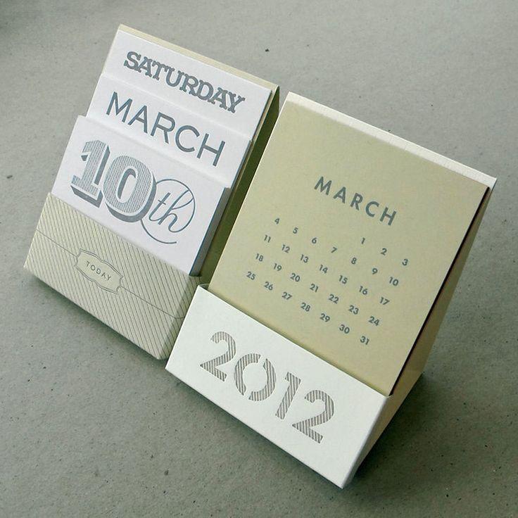 Ltd Edition Desk Calendar Set