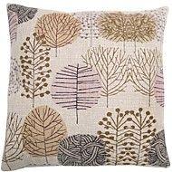 """createforlife® 18 """"alberi pittoriche retro biancheria di cotone quadrato cuscino decorativo"""
