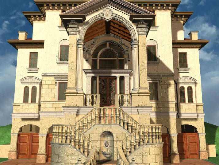151 best mediterranean italian spanish florida california for Roman style home design