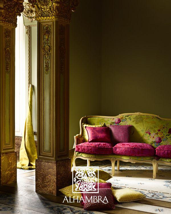 Allure collection by Alhambra - tkaniny obiciowe od MK Studio. http://www.mkstudio.waw.pl/dekoracje/tkaniny-obiciowe/