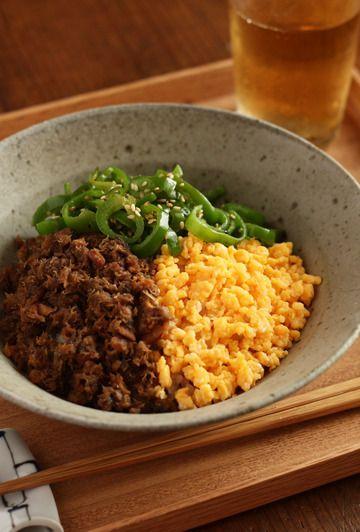 さばそぼろの三色丼 by ハナウタさん | レシピブログ - 料理ブログの ...
