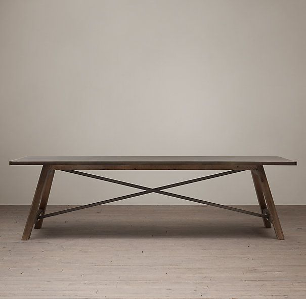 1000 ideas about Trestle Dining Tables on Pinterest  : 10c45ca153a1de62192b8a24f428be0d from www.pinterest.com size 605 x 590 jpeg 30kB