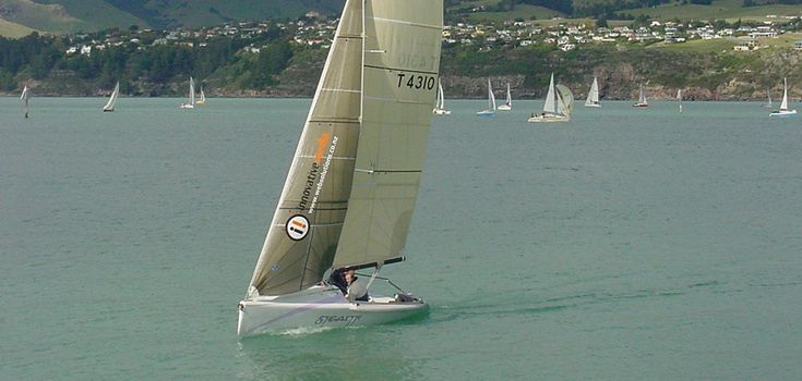 Dibley 21' Racing Trailer Yacht Boat Name: Stealth