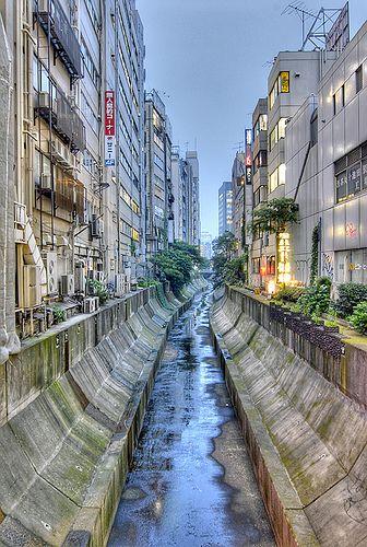 Believe it or not, a river runs through it! #Shibuya, #Tokyo, #Japan