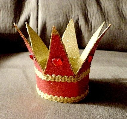 Queen and Princess Crowns for Dolls and Cake Toppers (Made by Request). $28.00, via Etsy.