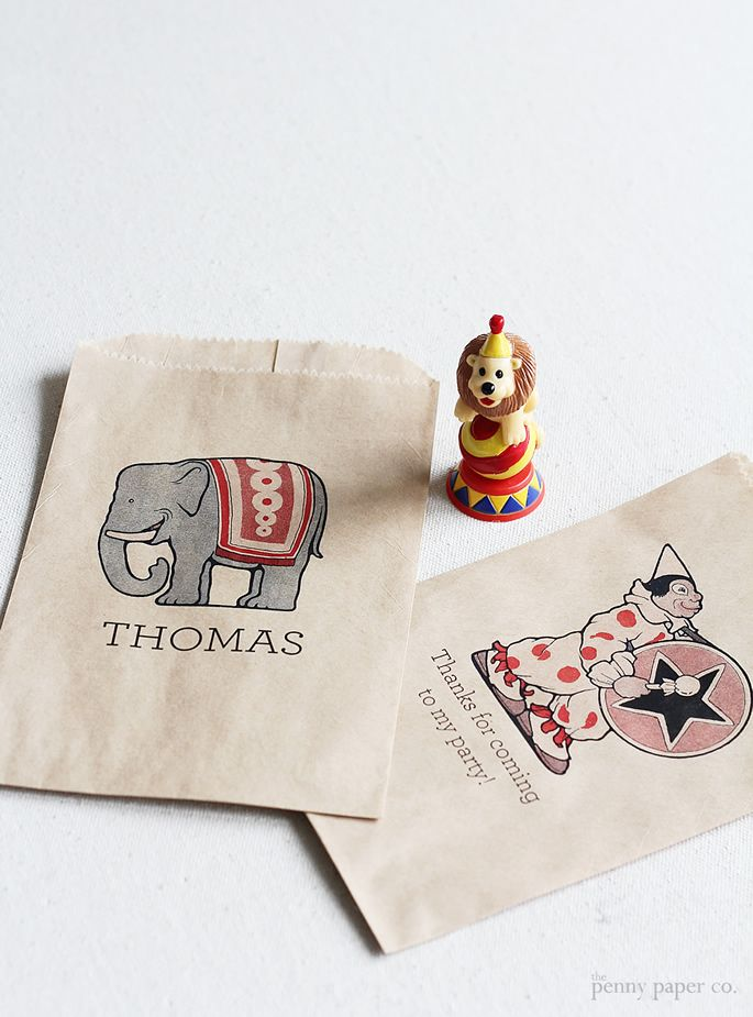 Print your own gift bags!