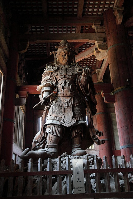 Komokuten sculpture in Todaiji Temple, Nara, Japan http://www.flickr.com/photos/molvis/4581857456/