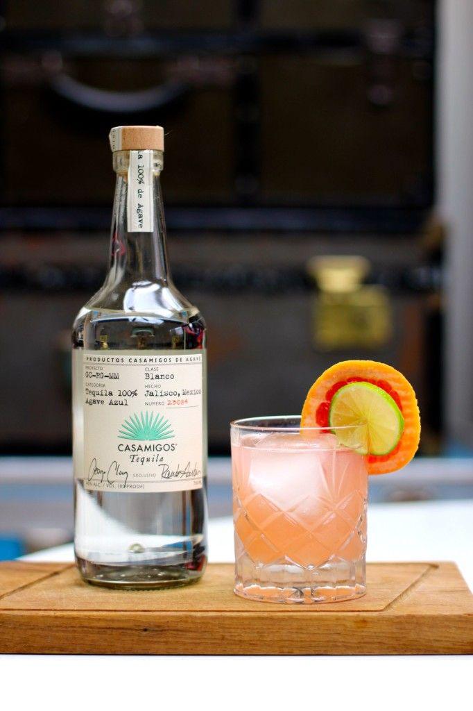 Grapefruit Tequila Cocktail Recipe + Casamigos
