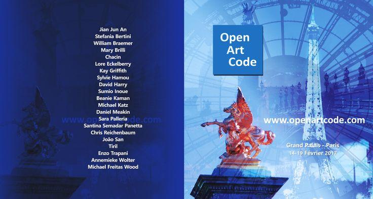 open art code at the grand palais paris